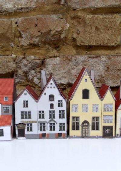 Tallinner Altstadt aus Papier