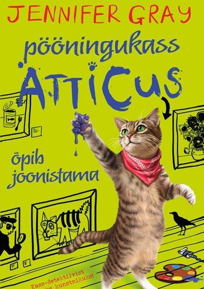 Pööningukass Atticus õpib joonistama #5