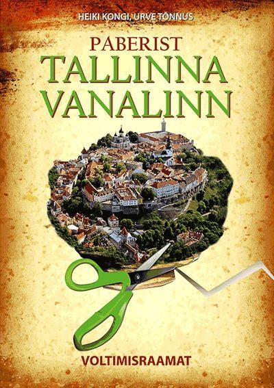 Paberist Tallinna vanalinn