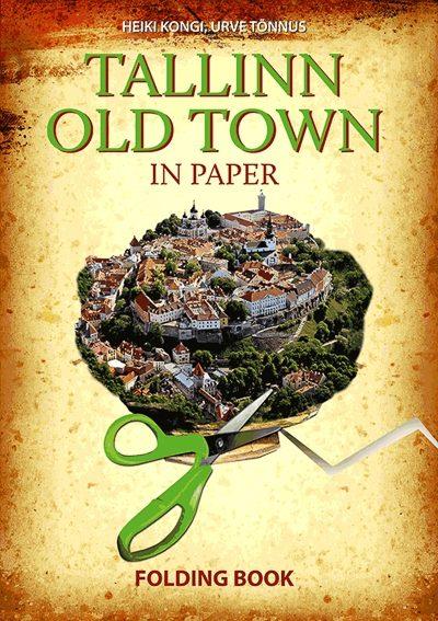 Tallinn Old Town in Paper