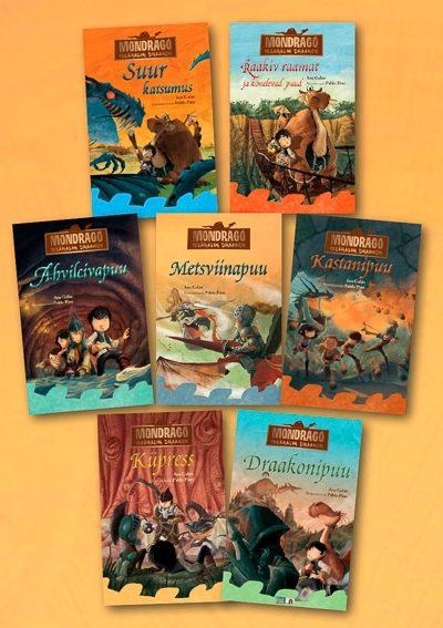 Mondrago raamatute 7 osa komplektina