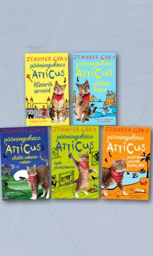 Atticuse raamatute komplekt