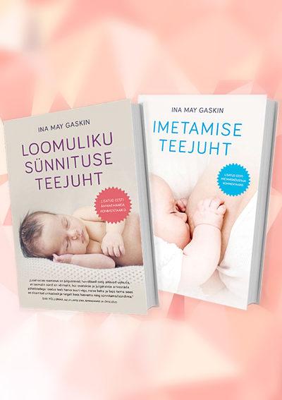 Sünnituse ja imetamise raamatute komplekt