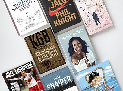 2018. aasta populaarseimad raamatud