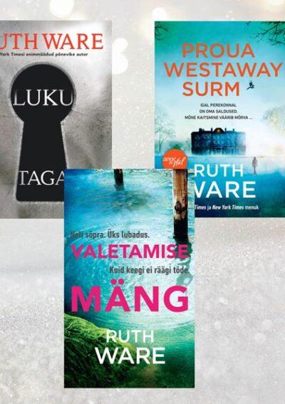 Ruth Ware'i raamatute komplekt